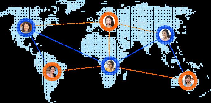 Creating Communication Across  The Globe 24/7
